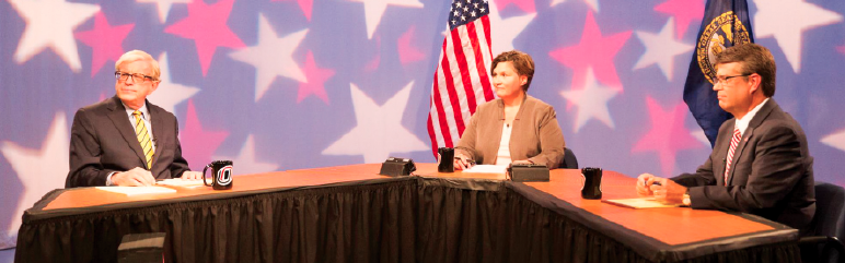 UNO television hosts congressional debate between Terry and Ashford