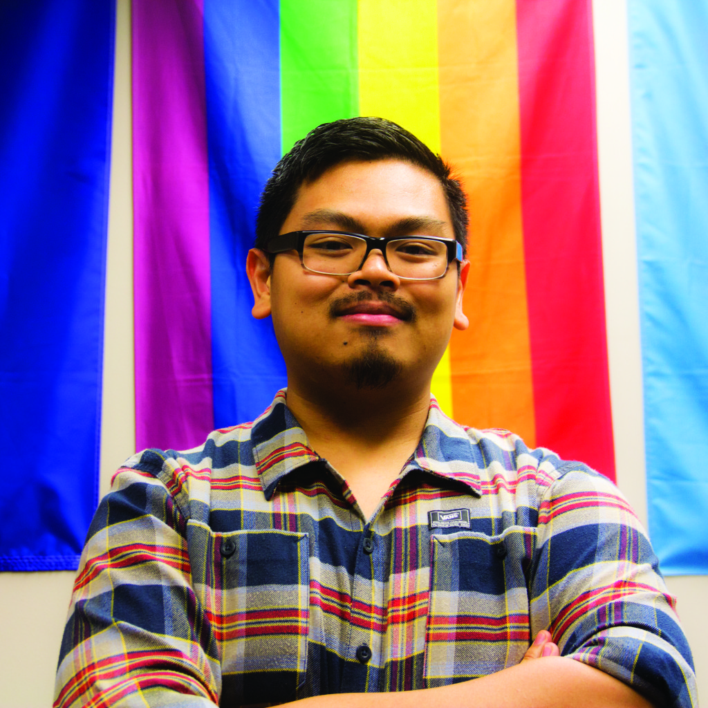 Photo by Evan Ludes/ The Gateway Borin Chep is the Director of UNO's Gender and Sexual Orientation agency