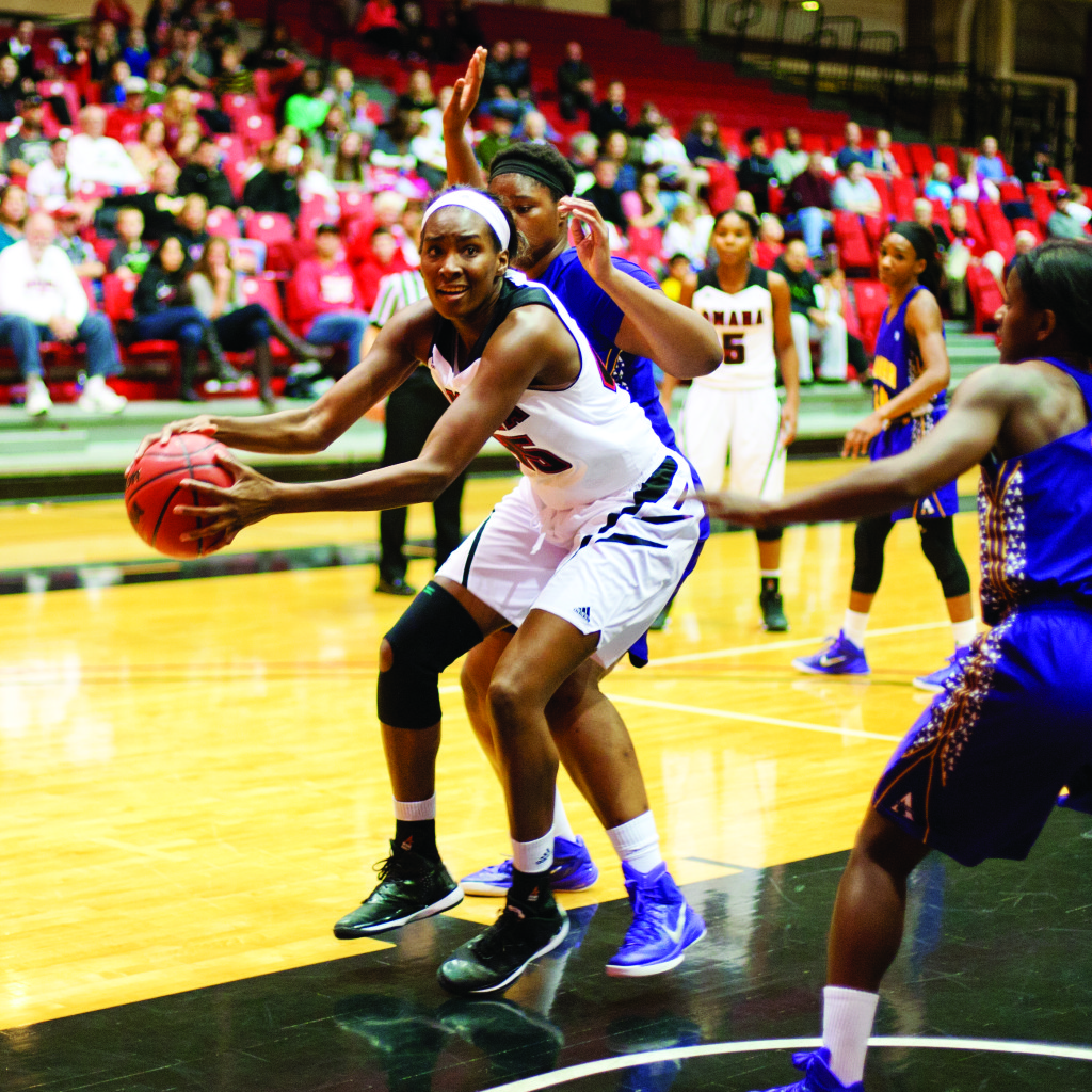 The Mavericks beat Alcorn St. 59-39 on Saturday