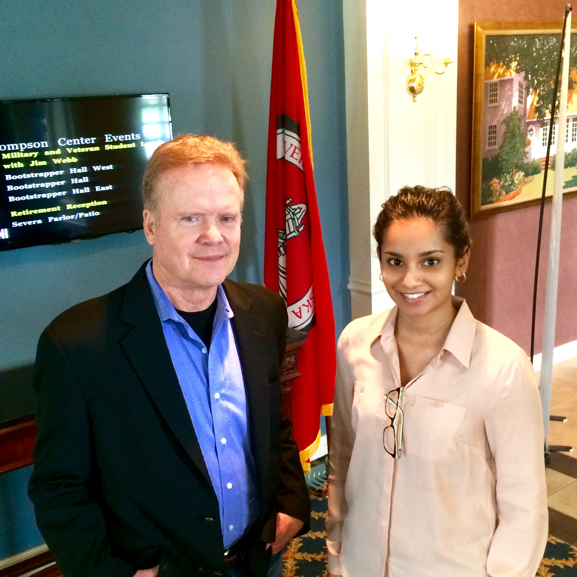 Nithya and Jim Webb