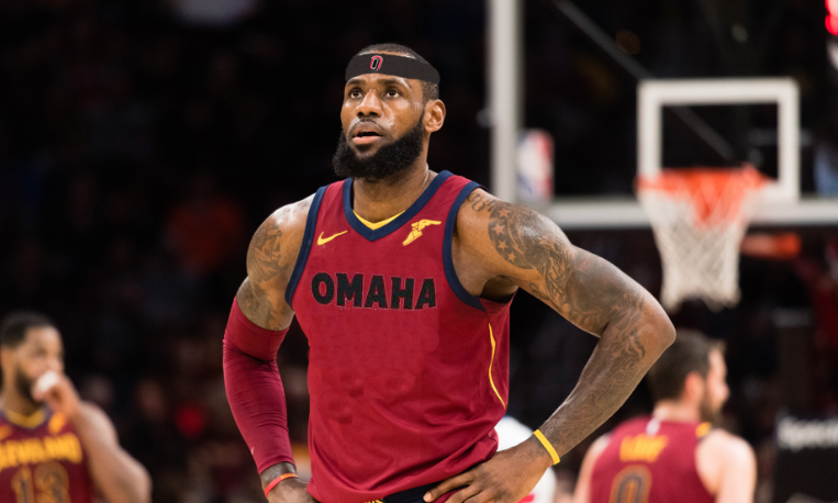 3dbed25fc2b LeBron James will be leaving the Cleveland Cavaliers to become a UNO  Maverick beginning next year.