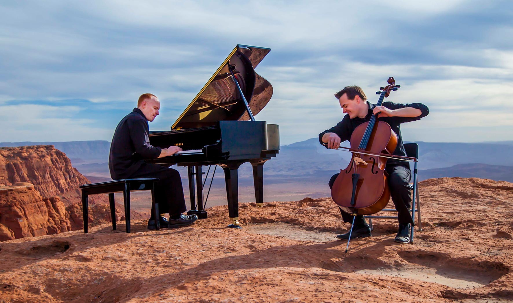 A photo of the Piano Guys