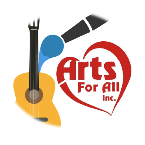 A logo for Arts for All